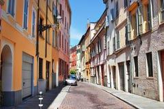 Città di Parma, regione dell'Emilia Romagna, Italia Fotografie Stock Libere da Diritti