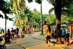 Città di Pattaya Immagini Stock