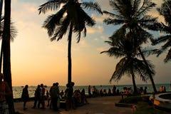 Città di Pattaya Immagini Stock Libere da Diritti