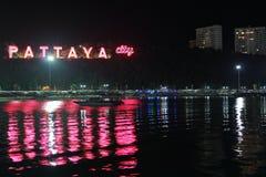 Città di Pattaya Fotografie Stock Libere da Diritti