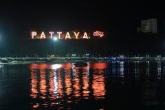 Città di Pattaya Fotografia Stock Libera da Diritti