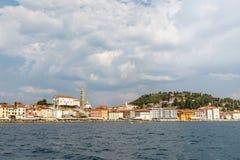 Città di Piran, Slovenia fotografie stock