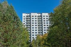 Città di Pripyat Fotografia Stock Libera da Diritti