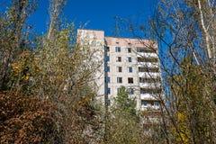 Città di Pripyat Fotografie Stock