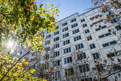 Città di Pripyat Fotografie Stock Libere da Diritti