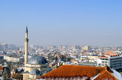 Città di Prizren, il Kosovo Fotografie Stock Libere da Diritti