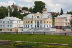 Città di provincia in Russia Immagini Stock Libere da Diritti