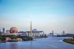 Città di Putrajaya Fotografie Stock Libere da Diritti