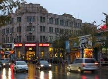 Città di Qingdao fotografia stock