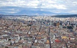 Città di Quito Immagine Stock Libera da Diritti
