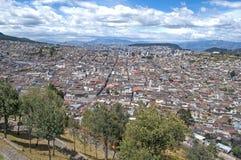 Città di Quito Fotografia Stock Libera da Diritti