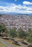 Città di Quito Immagini Stock Libere da Diritti
