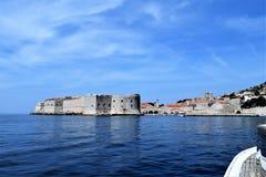 Città di Ragusa, Croazia fotografie stock libere da diritti