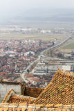 Città di Rasnov Fotografia Stock Libera da Diritti