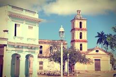 Città di Remedios in Cuba Fotografia Stock