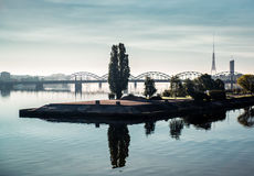 Città di Riga Fotografie Stock Libere da Diritti