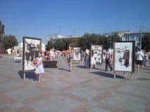 Città di Rivne fotografia stock libera da diritti