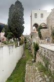 Città di Rodi della caditoia vecchia Fotografie Stock Libere da Diritti