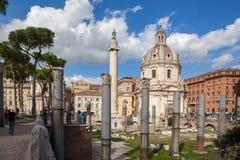 Città di Roma al giorno soleggiato Fotografia Stock