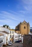 Città di Ronda in Andalusia Fotografia Stock
