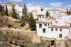 Città di Ronda in Spagna Fotografie Stock