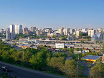 Città di Rostov Don Fotografie Stock