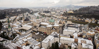 Città di Salisburgo, Austria, Europa Immagini Stock Libere da Diritti