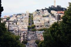 Città di San Francisco Immagini Stock Libere da Diritti