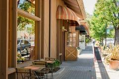 Città di Saratoga, California Immagine Stock Libera da Diritti