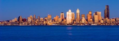 Città di Seattle immagini stock libere da diritti