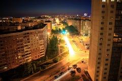 Città di sera Immagine Stock