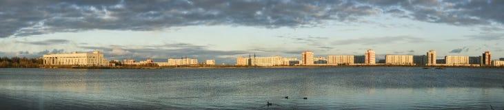 Città di Severodvinsk Fotografia Stock