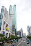 Città di Shenzhen Fotografia Stock