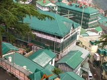 Città di Shimla in India Fotografia Stock Libera da Diritti