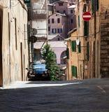 Città di Siena Italian, Italia Europa Fotografie Stock