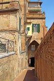 Città di Siena, provincia della Toscana, Italia Fotografie Stock Libere da Diritti