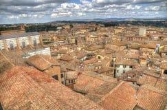 Città di Siena in Toscana, Italia Fotografia Stock Libera da Diritti