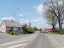 Città di Silale, Lituania fotografie stock libere da diritti