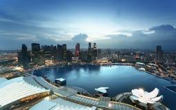 Città di Singapore Fotografia Stock