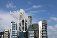 Città di Singapore Fotografia Stock Libera da Diritti