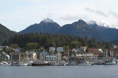Città di Sitka, Alaska fotografie stock libere da diritti
