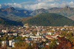 Città di Sliven, Bulgaria Immagini Stock Libere da Diritti