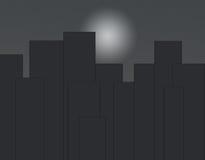 Città di sogno per lavoro e la vita Immagini Stock Libere da Diritti