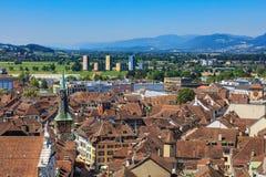 Città di Soletta in Svizzera Fotografia Stock Libera da Diritti