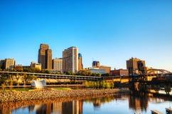 Città di St Paul, MN Immagine Stock Libera da Diritti