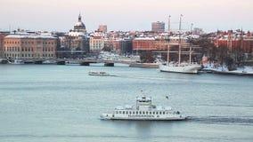 Città di Stoccolma video d archivio