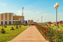 Città di Stroitel, regione di Belgorod La Russia Immagine Stock