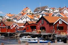 Città di Stromstad Immagini Stock Libere da Diritti