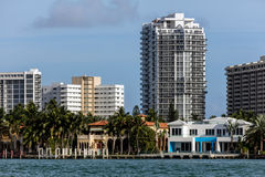 Città di Sunny Isles Beach, Florida immagini stock