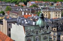 Città di Swidnica Immagini Stock Libere da Diritti